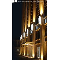 led楼体亮化设计_楼体亮化_白与黑照明工程图片