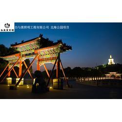 白与黑照明工程_夜景照明_城市夜景设计图片