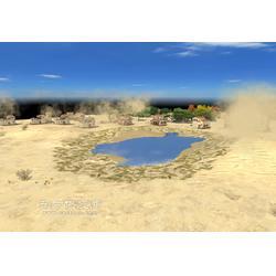 3D心理沙盘模拟教学软件定制开发图片