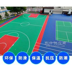 安康篮球场拼装地板厂家直销,欢饮选购图片
