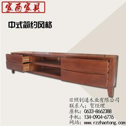 定做实木电视柜、威海实木电视柜、家酉家具(查看)图片