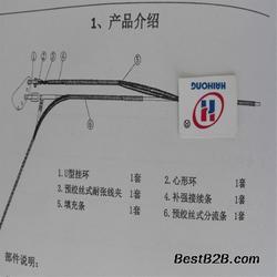 低价安全备份线夹地线预绞丝安全线夹厂家图片