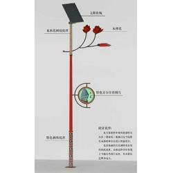 太阳能路灯|扬州润顺照明|水族图案太阳能路灯图片