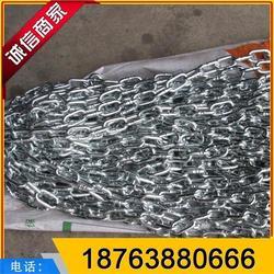 商洛镀锌链条|鑫洲机械|锚链镀锌链条图片