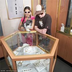 珠宝展示架木质烤漆-雅枫展柜-丽水珠宝展示架图片