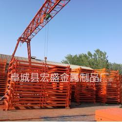 施工安全梯笼 供应新型安全爬梯 基坑上下安全通道图片