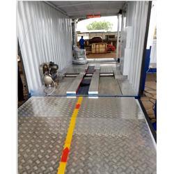 年审用移动摩托检测线厂家-移动摩托检测线-艾尼森一站式图片