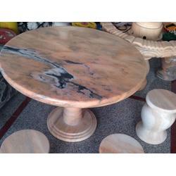 太原恒阳,汉白玉石桌石凳,大同石桌石凳图片