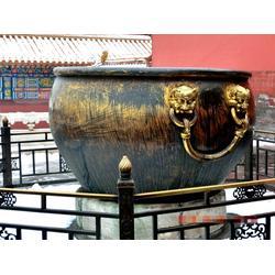 艺都雕塑 仿古铜大缸-张家口铜大缸图片
