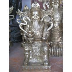 大型佛像雕塑,黄铜财神,铜财神图片