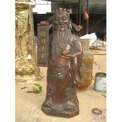 铜财神-老黄铜财神 布袋和尚-艺都雕塑(优质商家)图片