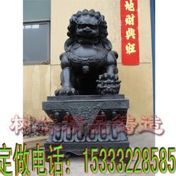 艺都雕塑 铜狮子的摆放-铜狮子图片