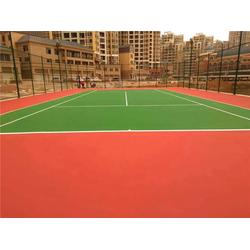 宇硕体育(图)_乒乓球场地面材料_球场地面图片