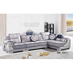 欧式布艺沙发组合图片