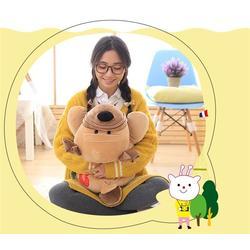 儿童毛绒玩具制作-海通工艺玩具厂家-毛绒玩具图片