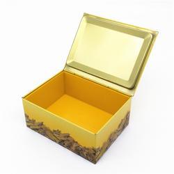 圣诞礼品铁盒生产厂家-礼品铁盒-铭盛制罐防腐图片