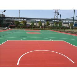 丙烯酸篮球场造价-常州丙烯酸篮球场造价-中江体育(优质商家)图片