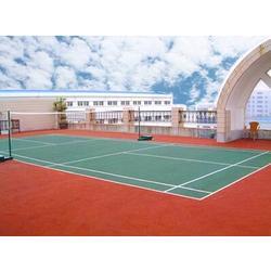 丙烯酸羽毛球场 温州丙烯酸羽毛球场 中江体育(优质商家)图片