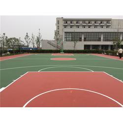 张家港塑胶篮球场造价_中江体育(在线咨询)_塑胶篮球场造价图片