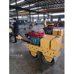 加厚双钢轮压路机报价 手扶液压压路机生产厂家图片