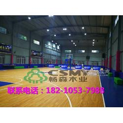 篮球馆使用的专业体育运动木地板的选购流程与注意事项图片