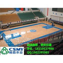 如何挑选适合的合理的篮球木地板图片