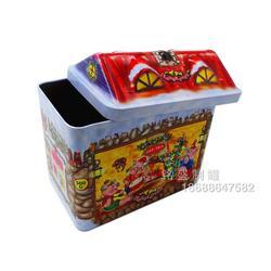 马口铁小房子铁盒、小房子铁盒、铭盛制罐厂家推荐(多图)图片