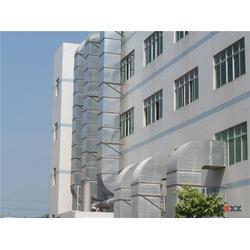 厨房排油烟,广州铁凌白铁通风工程,白云厨房排油烟图片