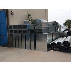 顺德区风管加工、铁凌金属公司服务周到、白铁皮风管加工图片