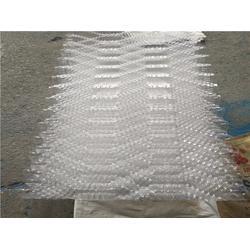 冷却塔填料-华庆玻璃钢-pvc 冷却塔填料图片