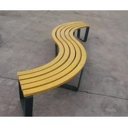 莱芜防腐木公园椅,泉景轩木制品,防腐木公园椅生产厂家图片