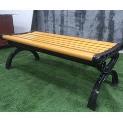四平休闲椅、塑木休闲椅制作、泉景轩木制品图片
