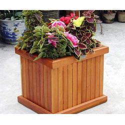泉景轩木制品定制(多图)|木质花箱厂家|聊城木质花箱图片