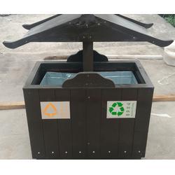垃圾桶、泉景轩木制品(在线咨询)、景观垃圾桶图片