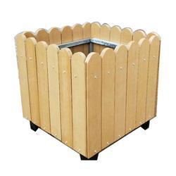 巴彦淖尔花箱|泉景轩木制品|塑木花箱图片