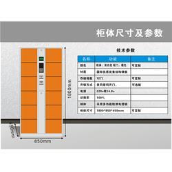 广州存包柜、强固、员工存包柜图片