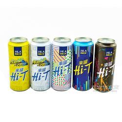 亮绿方现货供应 圆形服饰包装罐 优质金属盒 食品饮料铁罐 商务馈赠礼品罐图片