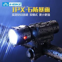 自行车气门灯高亮T6前灯,焰狼图片