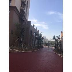 上海彩色透水混凝土_彩色透水混凝土添加剂_一添地坪图片