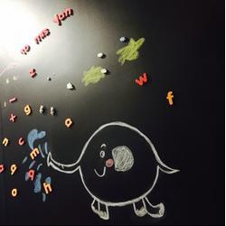 黑板|奶茶店黑板广告板|磁善家(优质商家)图片