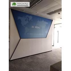 公司磁性背景墙-磁善家信息科技-广东磁性背景墙图片