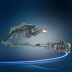 自动码垛机供应商,万川电器(在线咨询),自动码垛机图片