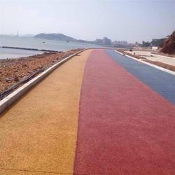 一添地坪,彩色透水混凝土多少钱,吕梁彩色透水混凝土图片