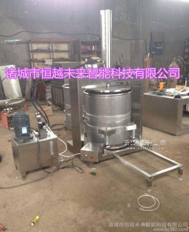 恒越未来HYWL-300L酱菜压榨机 酱菜脱水机 金针菇脱水机图片