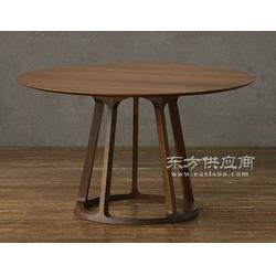 实木圆桌,北欧款餐桌,简餐圆桌,火锅圆桌,时尚圆桌图片
