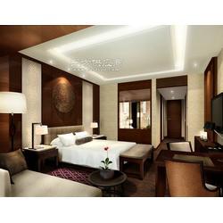 星级酒店家具定做,工程固装家具定制,木饰面定做,护墙板定做,客房床,床头柜,床头背景,门及门套图片