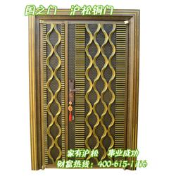 仿铜门厂家-北京仿铜门-沪松铜门值得推荐(查看)图片