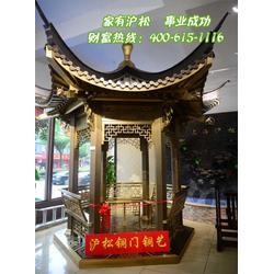 沪松铜门值得推荐(图)|纯铜门价|徐州纯铜门图片