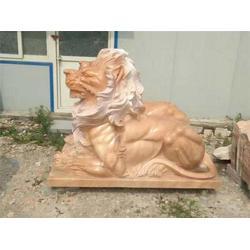 石雕狮子厂家、铭祥石雕公司、鄂州石雕狮子图片