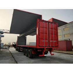 信合电动液压飞翼集装箱 厂家图片